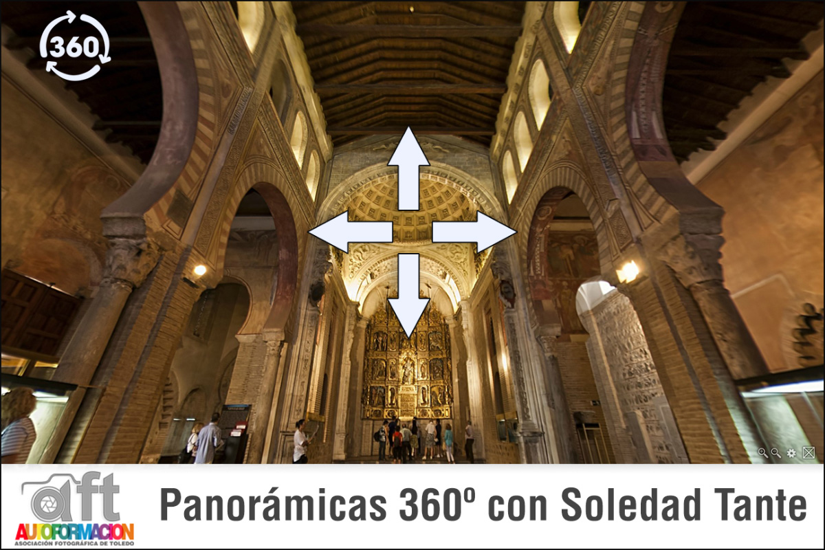 Panorámicas 360º con Soledad Tante