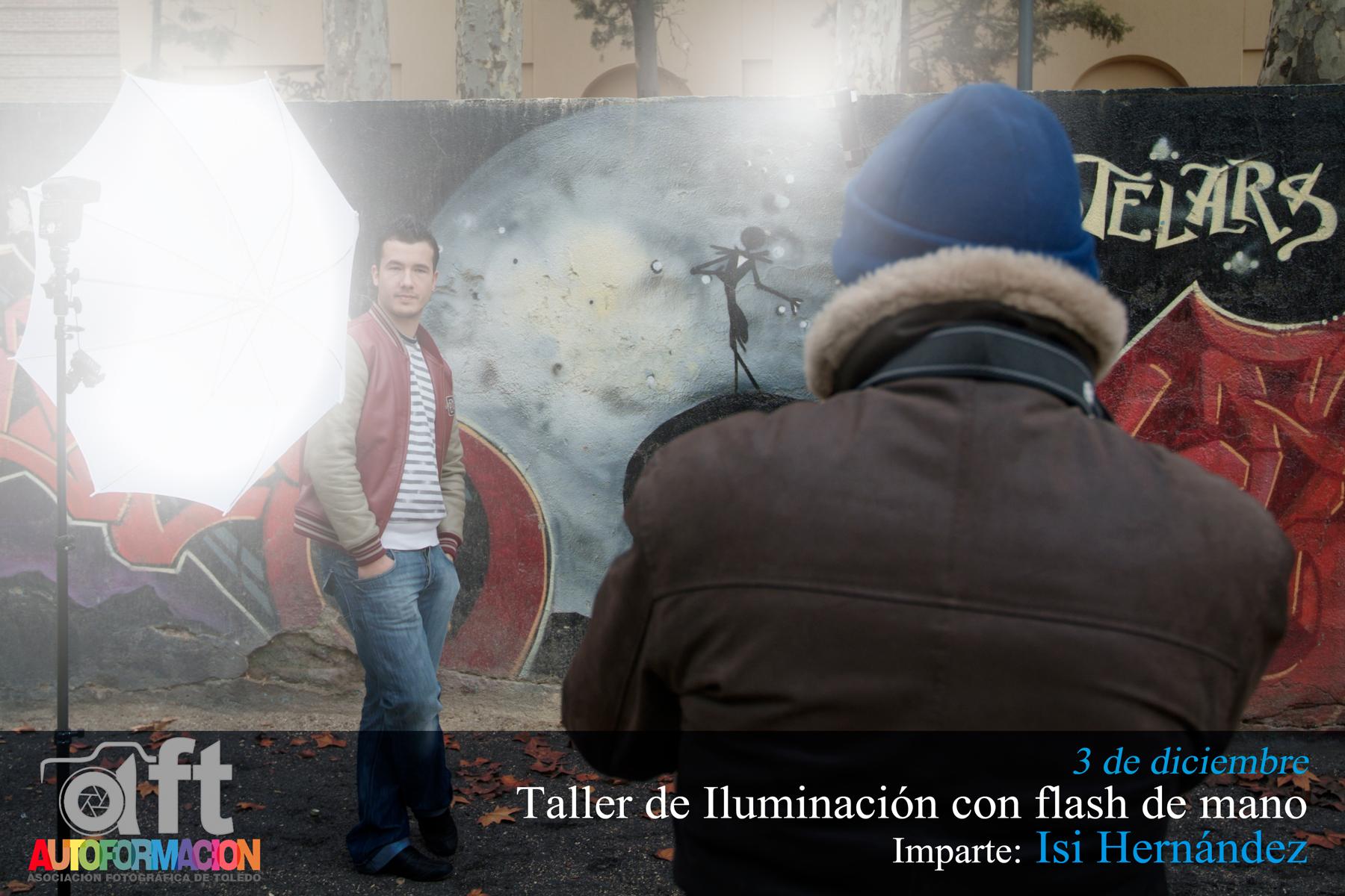 Taller de Iluminación con flash de mano, con Isi Hernández