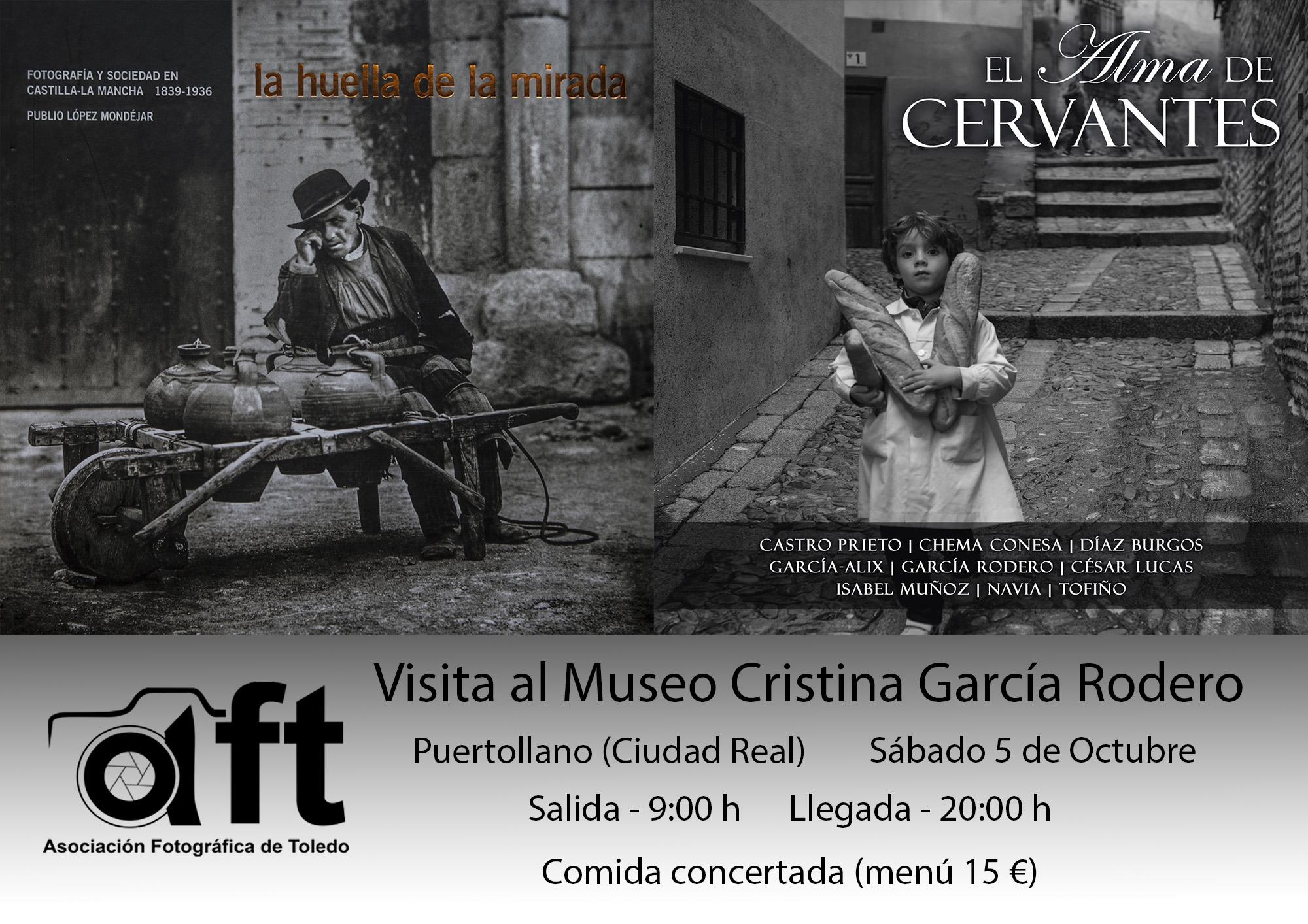 VISITA AL MUSEO DE CRISTINA GARCÍA RODERO