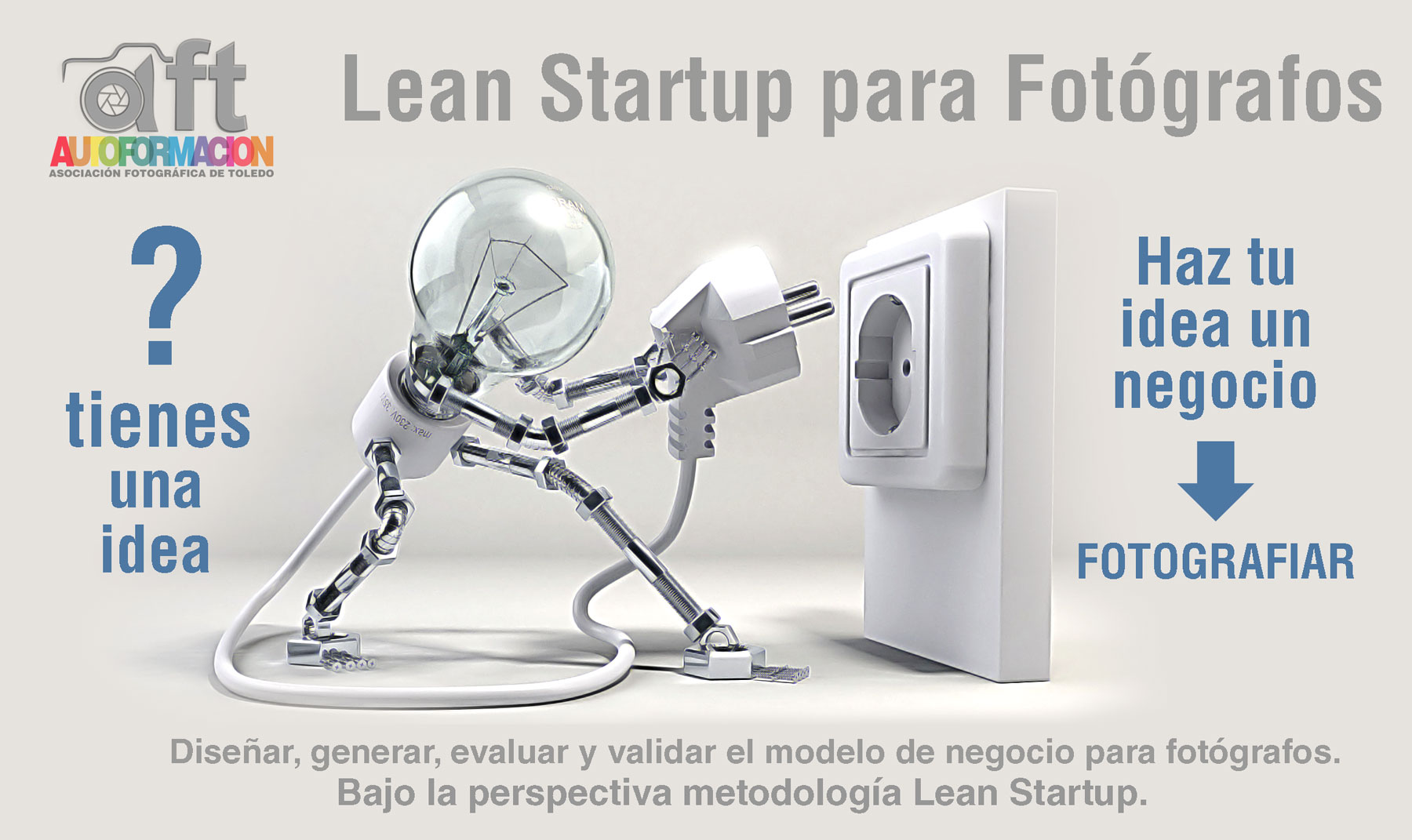 Lean Startup para fotógrafos con Rubén Aller